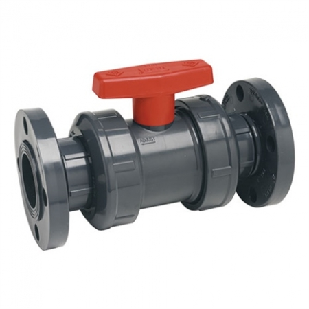 1-1/2 CPVC TRUE UNION BALL VALVE FLG EPDM
