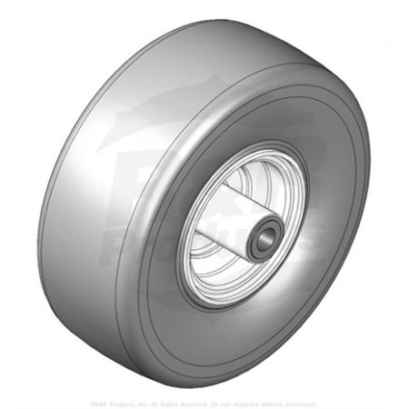 WHEEL-&  TYRE  ASSY - 11X4.00-5 SMOOTH  Replaces  1004023