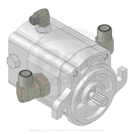 HYD REEL MOTOR- Replaces Part Number 110-1717