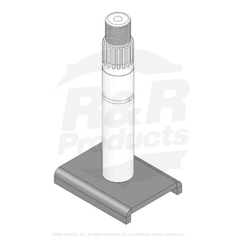 SHAFT-SPINDLE ASSY  Replaces  99-9826-03