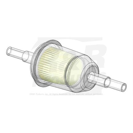 FUEL FILTER Baldwin- Replaces AM116304